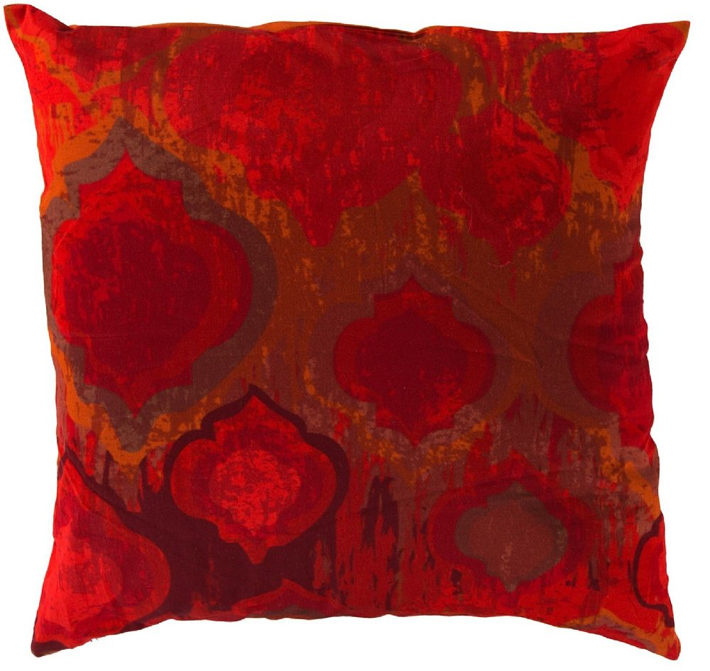 surya watercolor contemporary decorative pillow collection