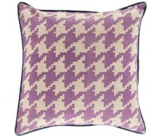 Surya Contemporary Houndstooth pillow Collection