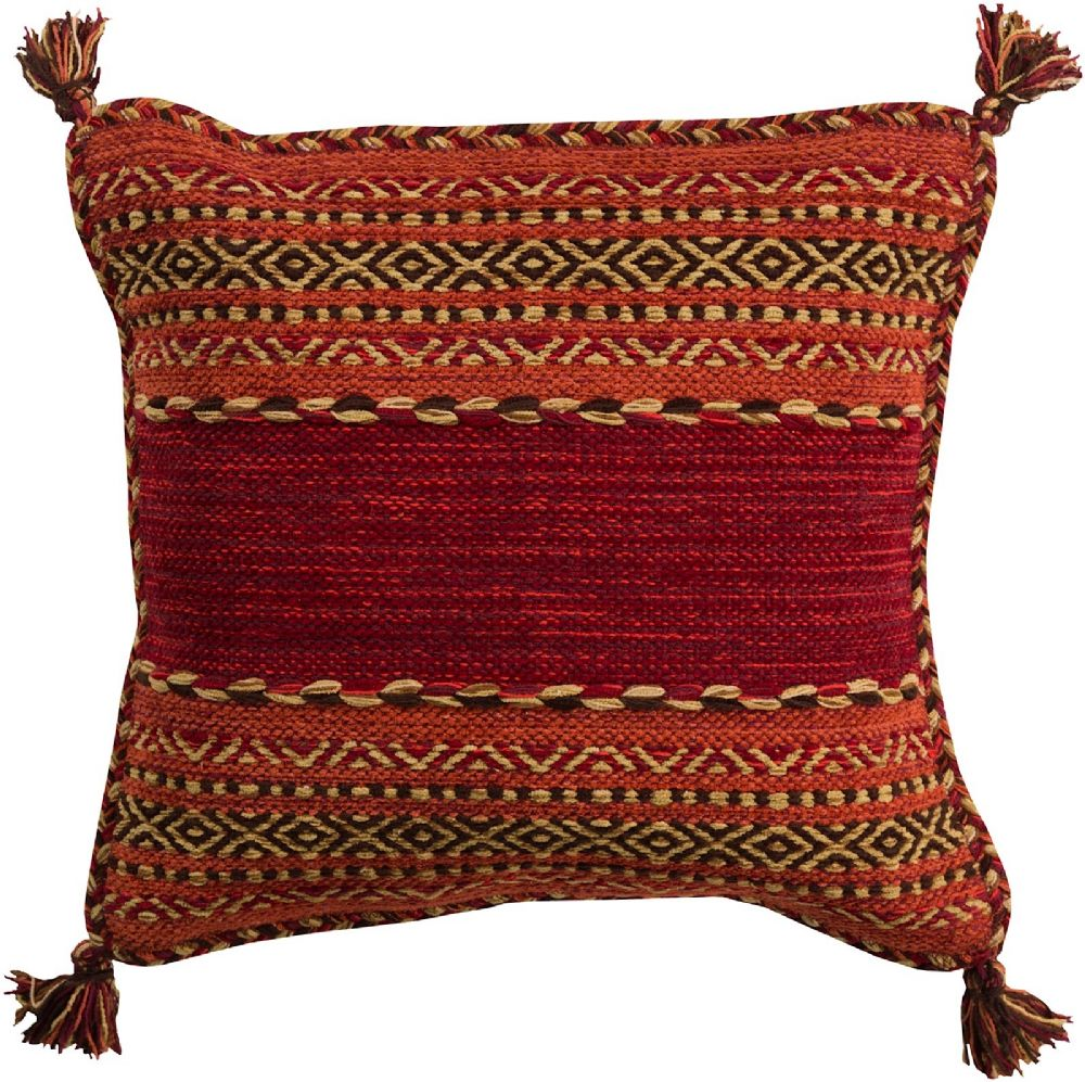 surya trenza contemporary decorative pillow collection