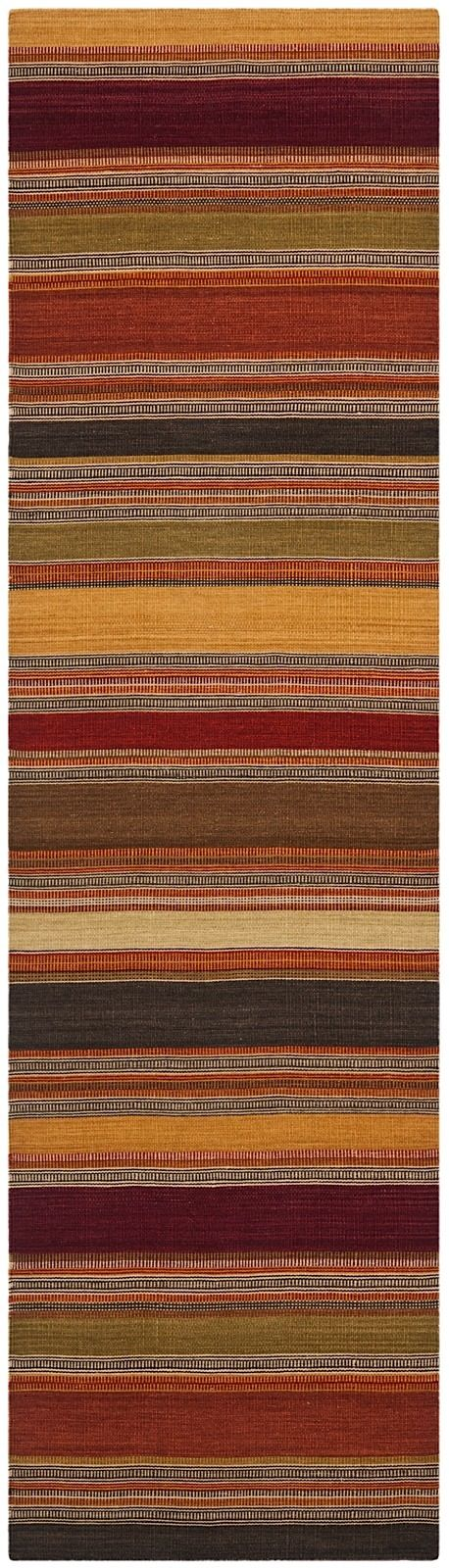 safavieh striped kilim solid/striped area rug collection