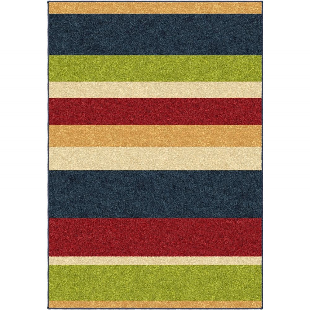 orian aruba solid/striped area rug collection