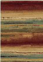 Orian Solid/Striped Wild Weave Area Rug Collection