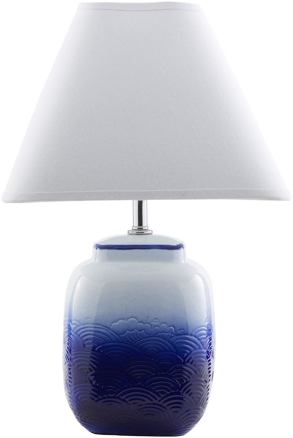 surya azul contemporary table lamp