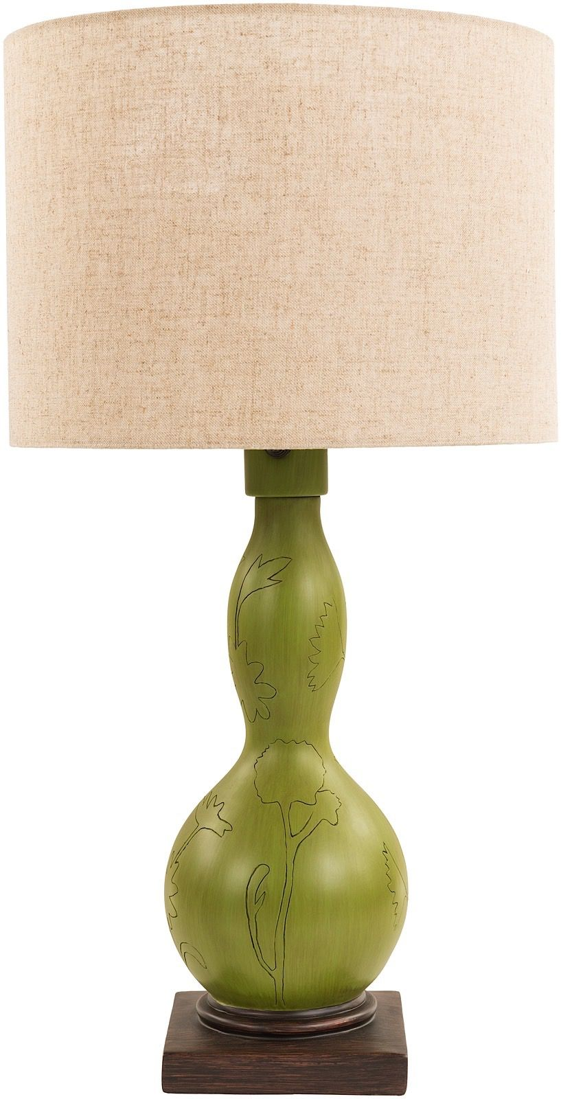 surya koa contemporary table lamp