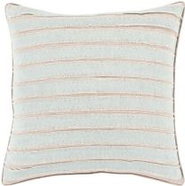 Surya Solid/Striped Willow pillow Collection