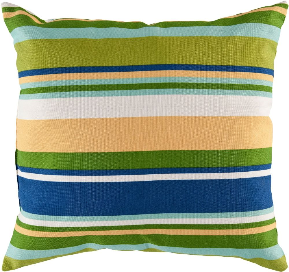 surya storm solid/striped decorative pillow collection