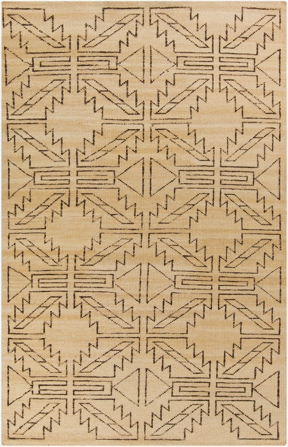surya pueblo southwestern/lodge area rug collection