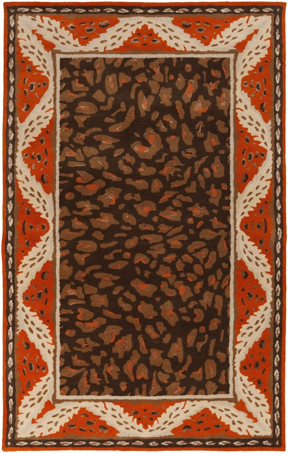 surya paris animal inspirations area rug collection