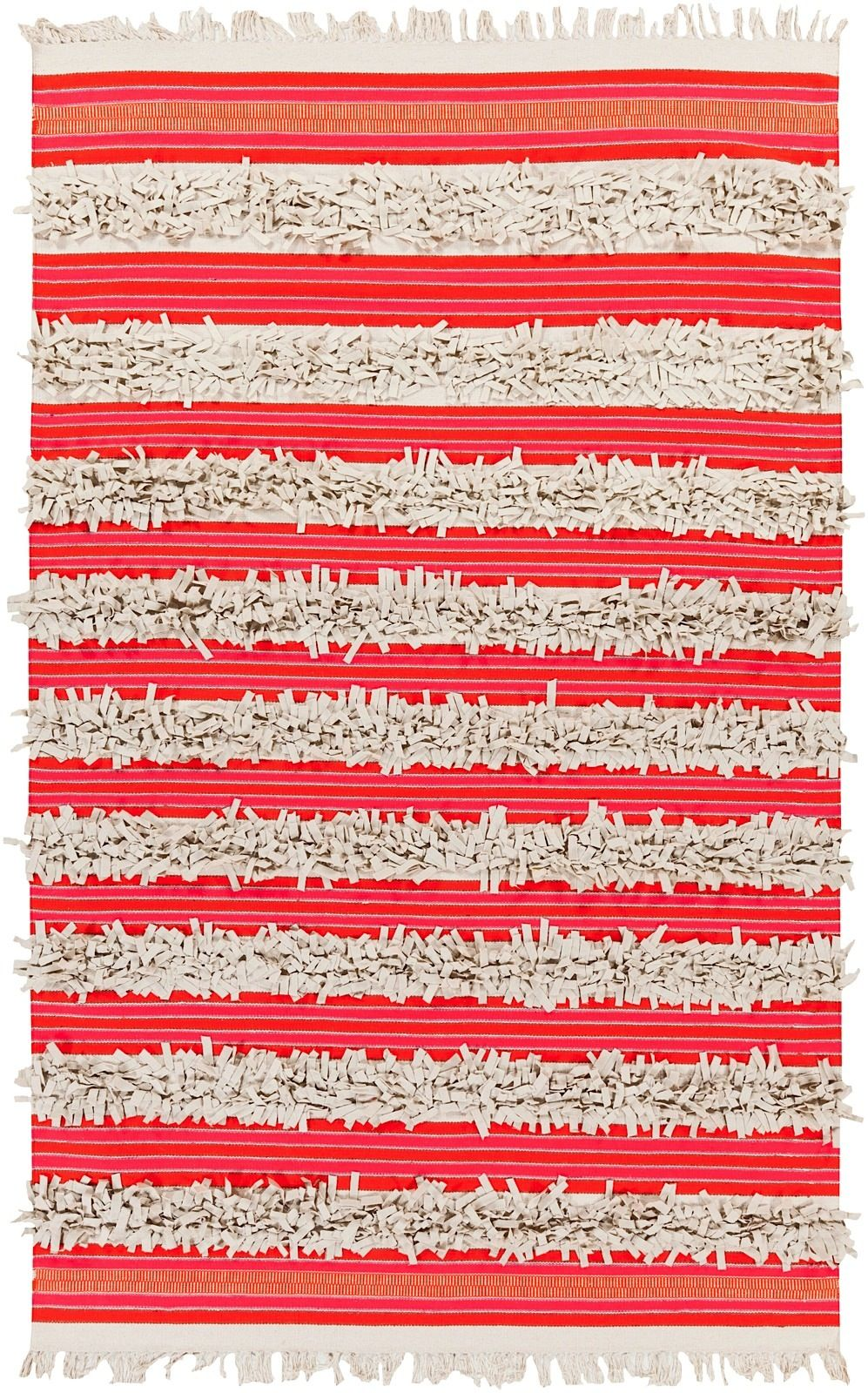 surya steps solid/striped area rug collection