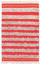 RugPal Solid/Striped Ornament Area Rug Collection