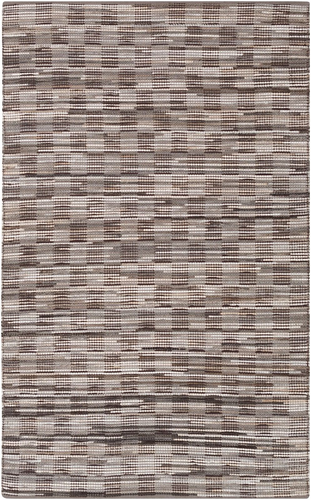 surya apis solid/striped area rug collection