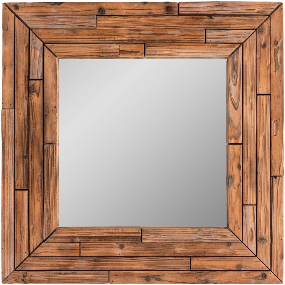 surya northwood contemporary mirror collection