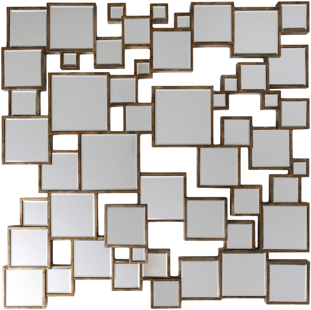 surya strickland contemporary mirror collection