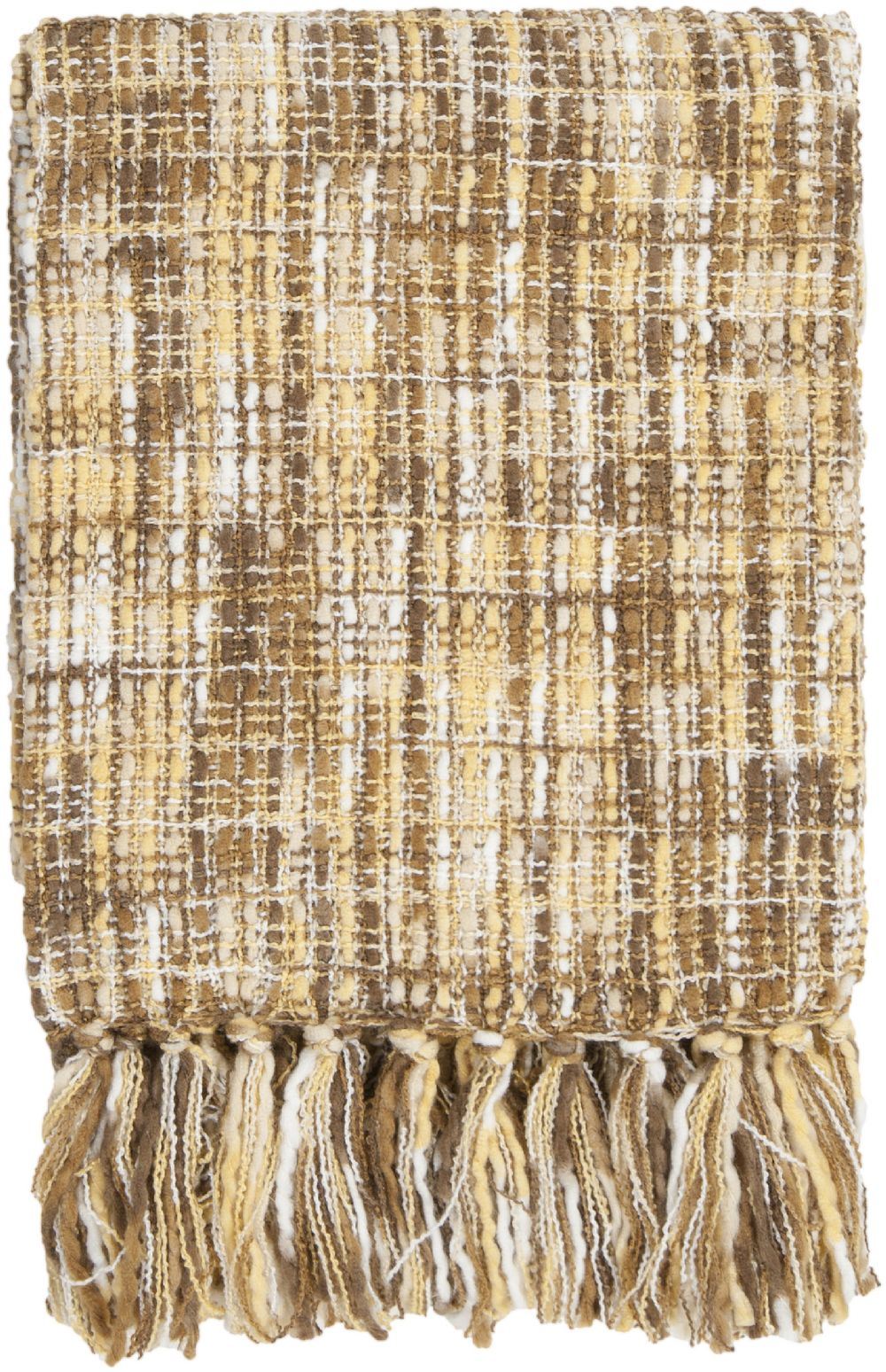 surya tabitha solid/striped throw collection