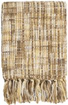Surya Solid/Striped Tabitha throw Collection