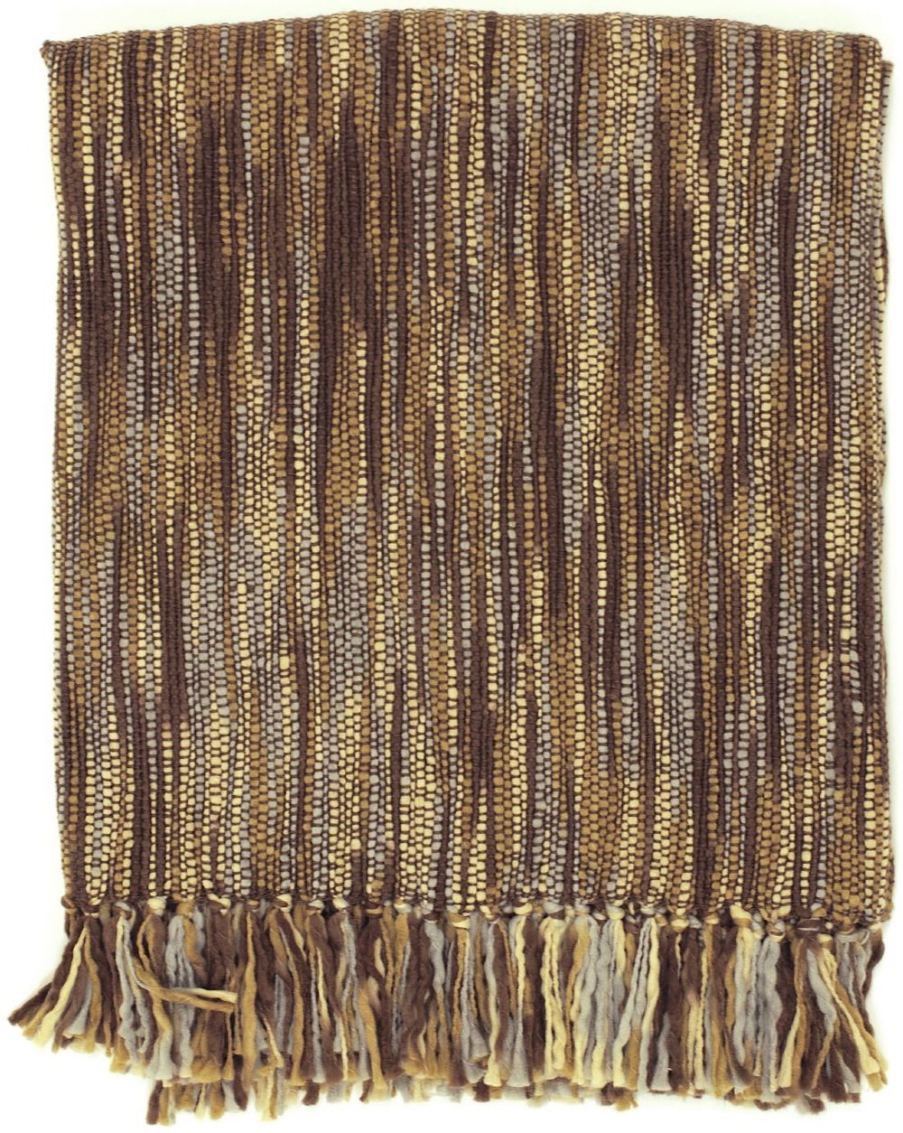 surya teegan solid/striped throw collection