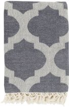 Surya Contemporary Trellis throw Collection