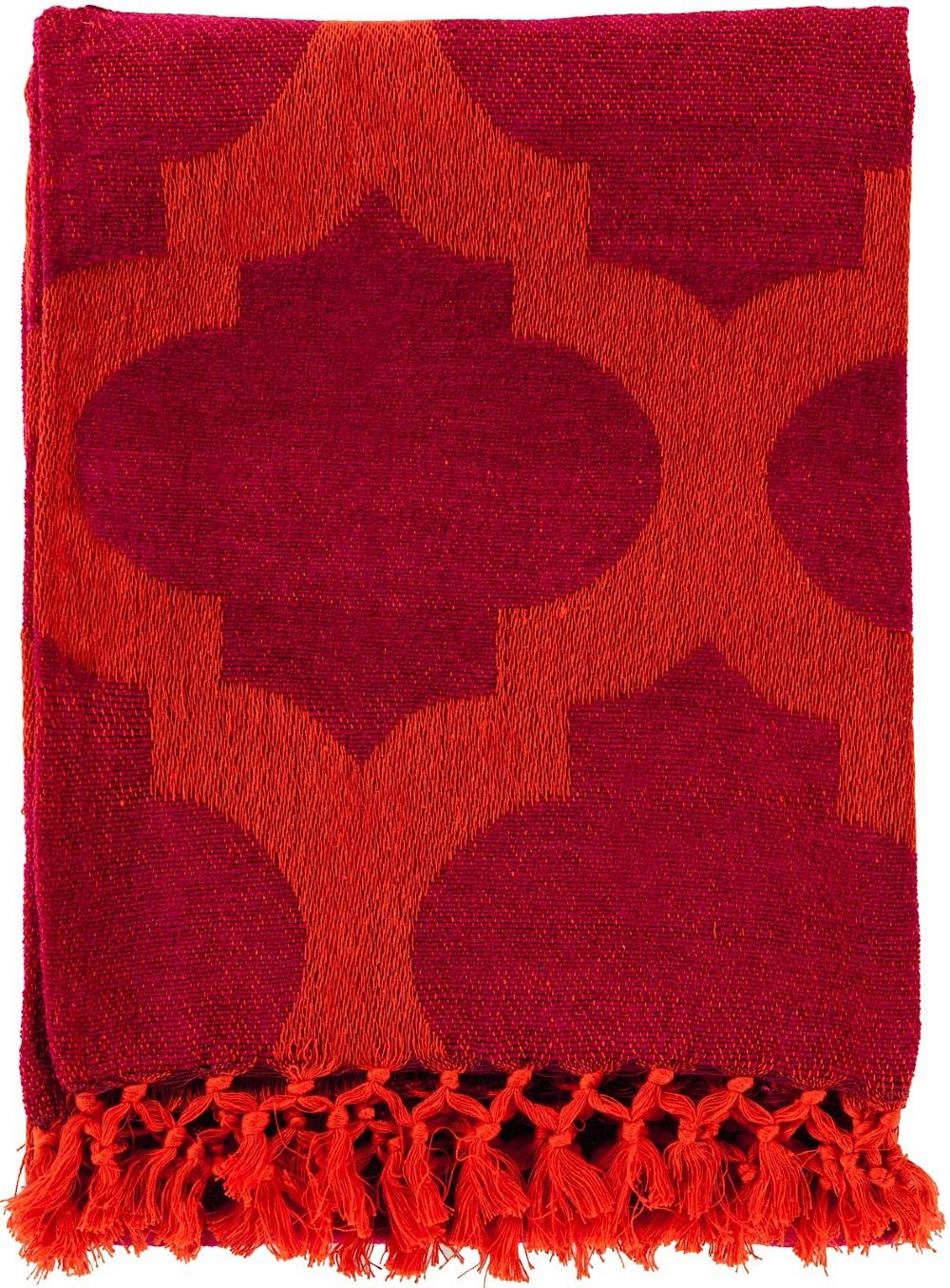 surya trellis contemporary throw collection