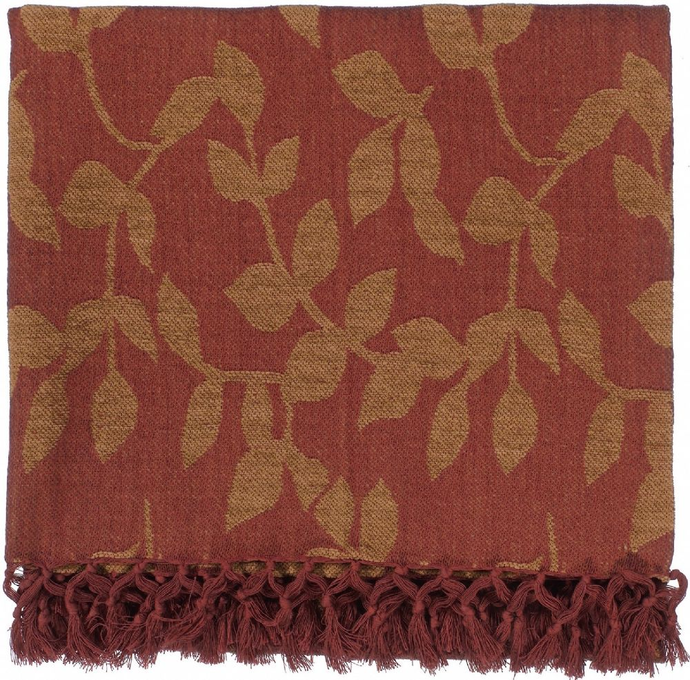 surya timora country & floral throw collection