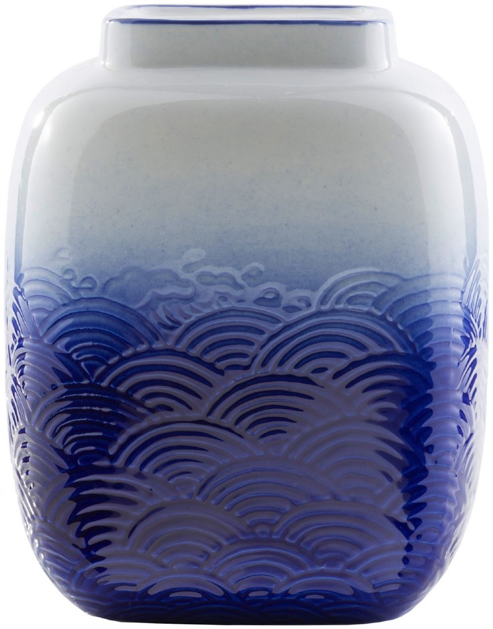 surya azul contemporary vases
