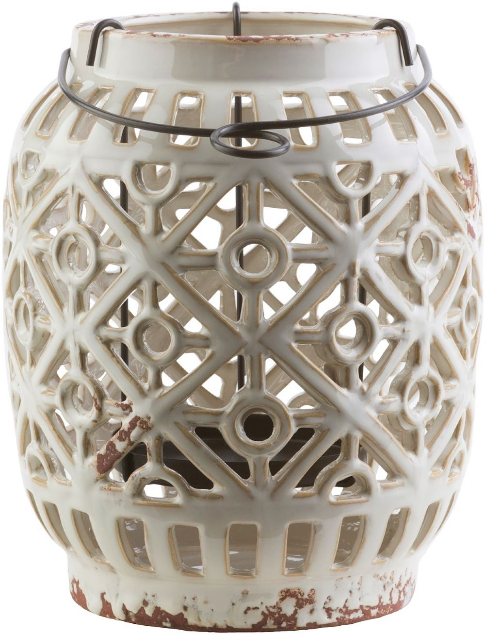 surya killian contemporary candle holders & lanterns
