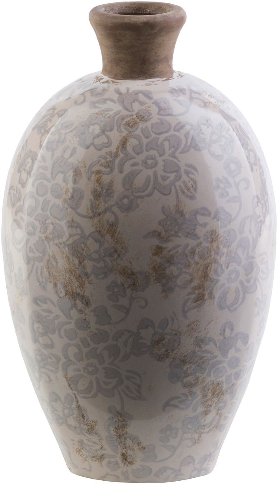 surya leclair country & floral vases