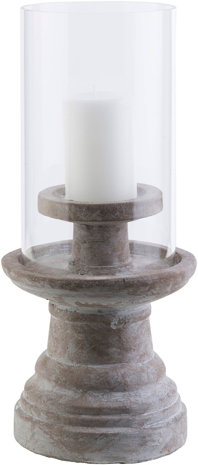 surya odette contemporary candle holders & lanterns