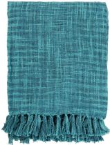 Surya Solid/Striped Tori throw Collection