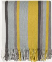 Surya Solid/Striped Topanga throw Collection