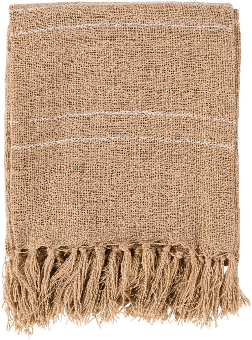 surya traveler solid/striped throw collection