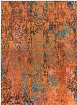 Surya Contemporary Brocade Area Rug Collection