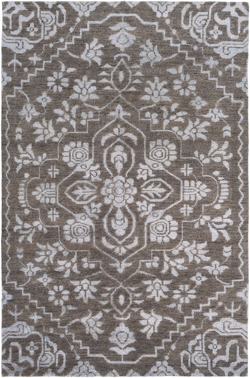 surya kinnara country & floral area rug collection