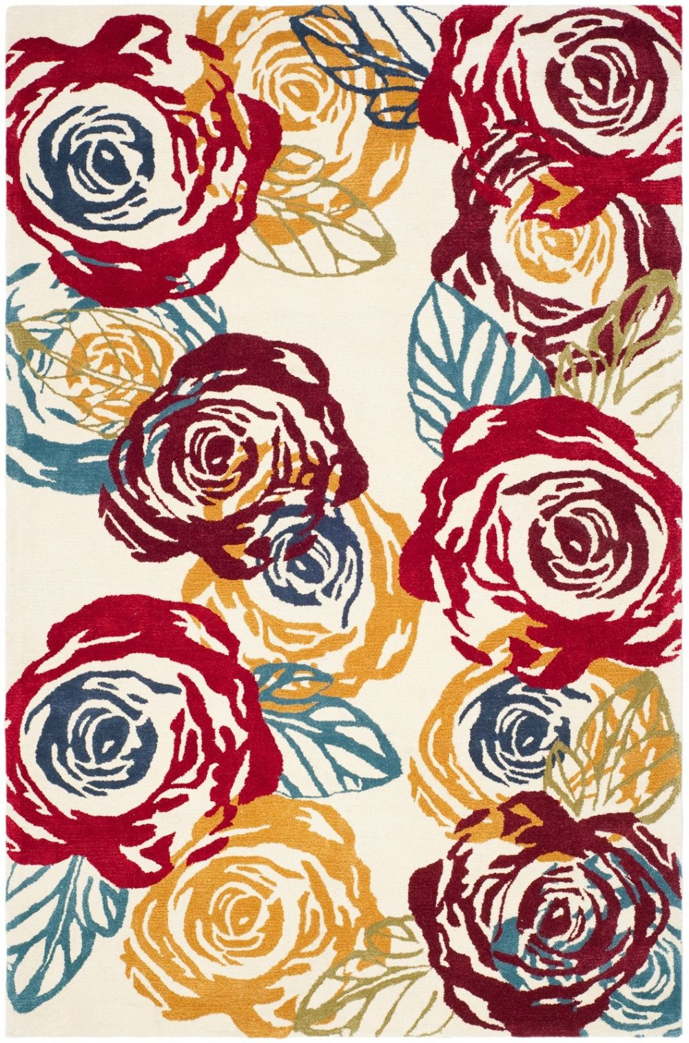 safavieh soho country & floral area rug collection