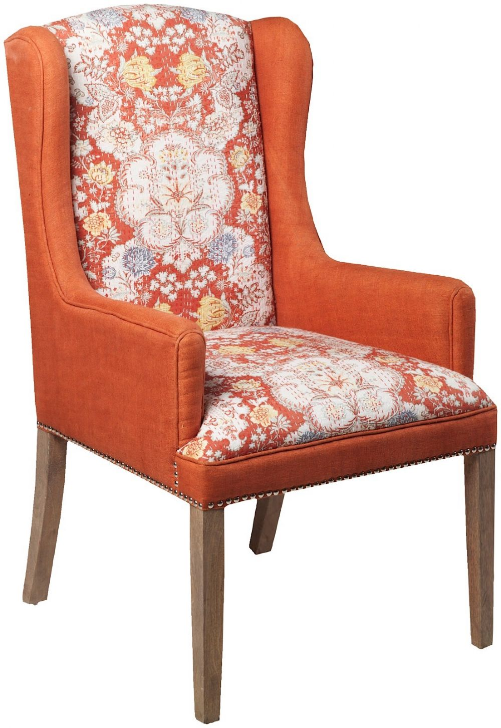 surya floral contemporary accent chairs