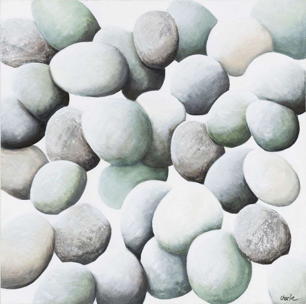 surya stone contemporary wall art collection