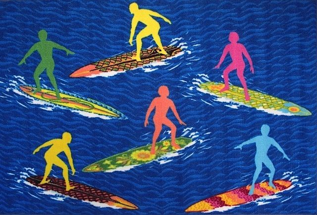 fun rugs surf time kids area rug collection