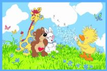 Fun Rugs Kids Little Suzys Zoo Area Rug Collection