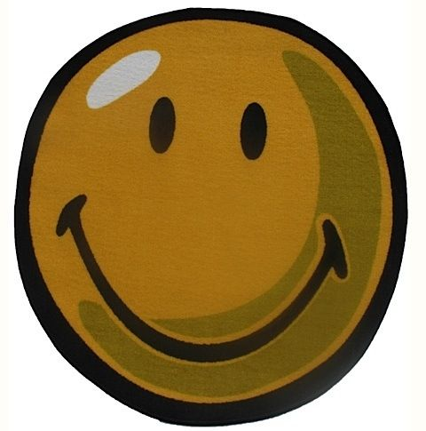 fun rugs smiley world kids area rug collection