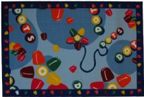 Fun Rugs Kids Tootsie Roll Area Rug Collection