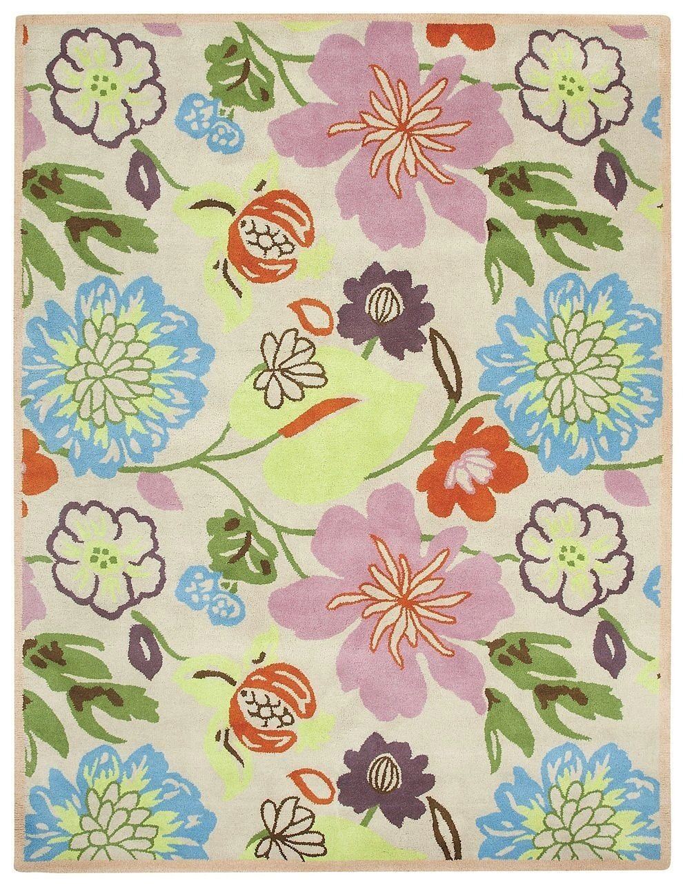 capel charisma-floral contemporary area rug collection
