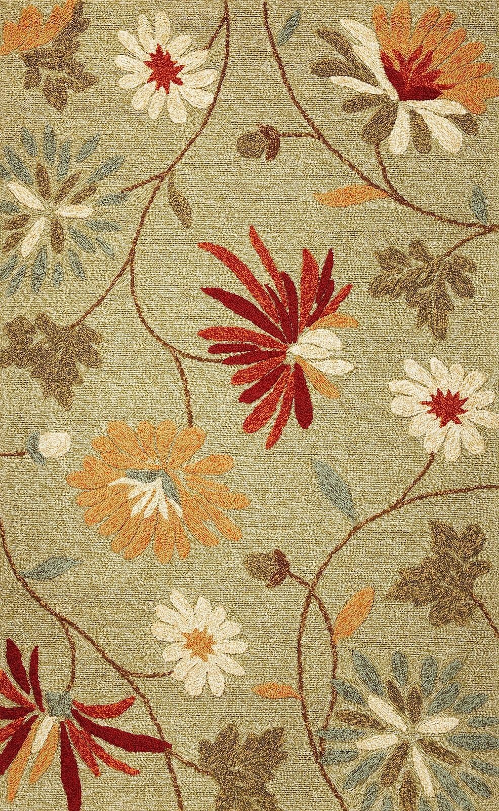 kas meridian country & floral area rug collection