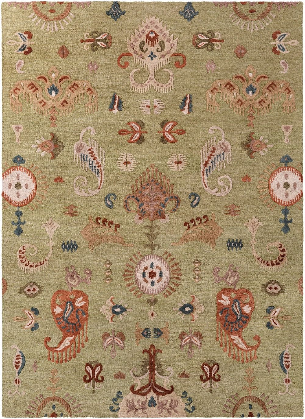 surya sprout transitional area rug collection