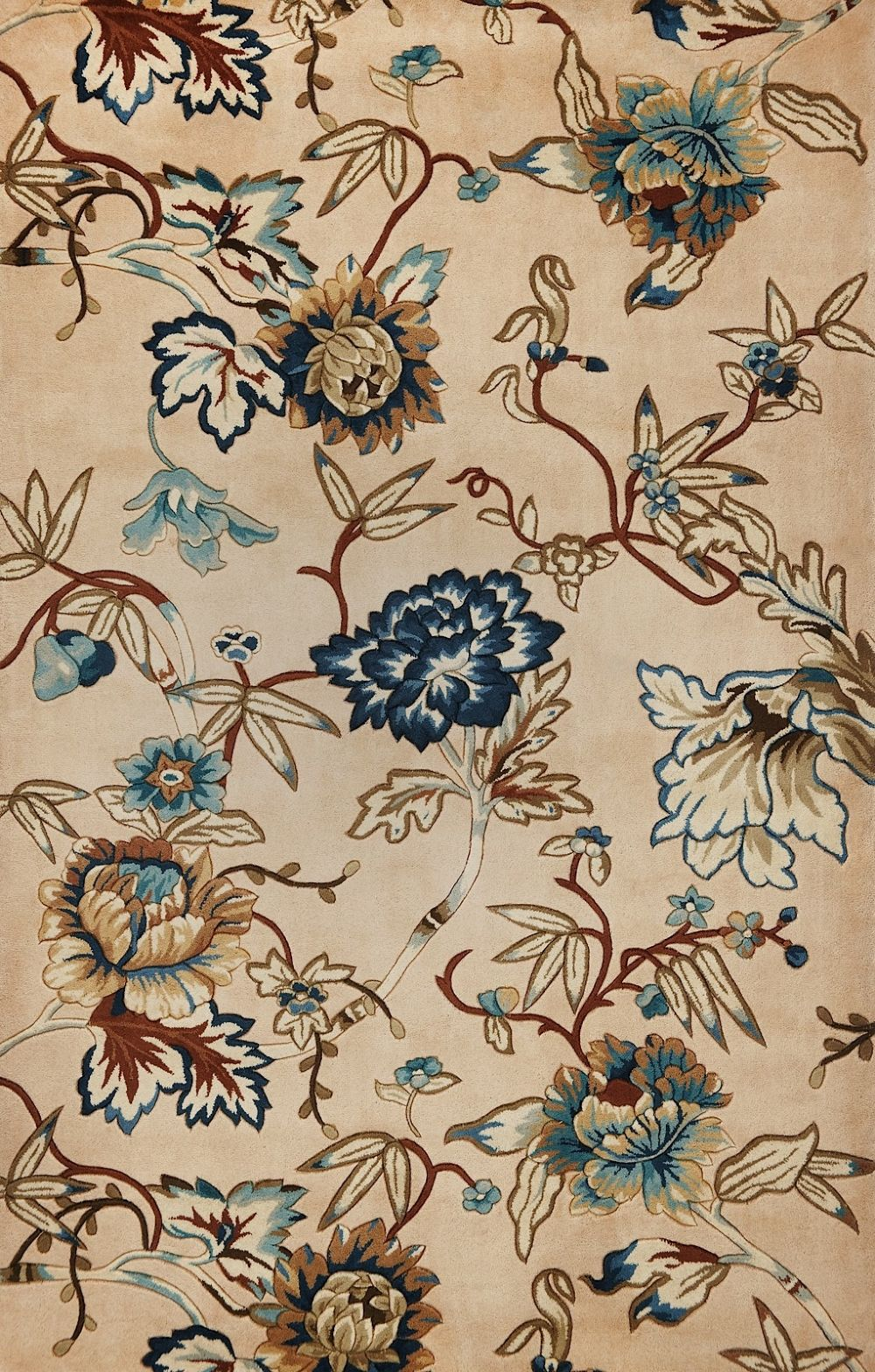 kas catalina country & floral area rug collection