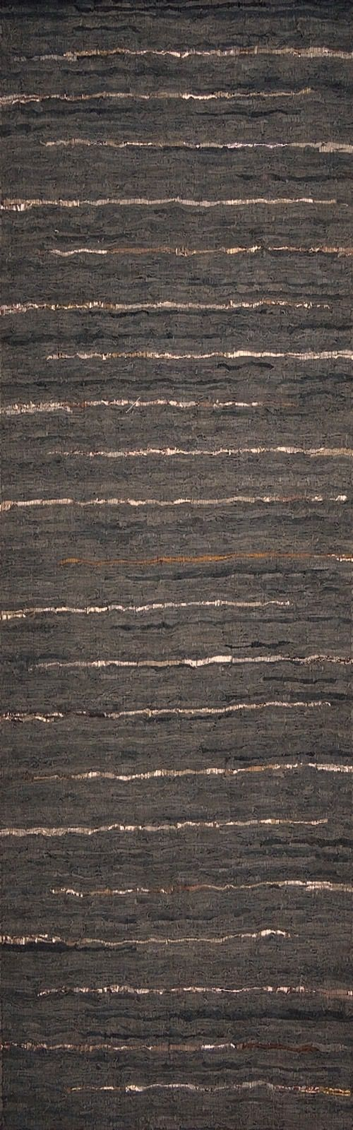 surya anthracite solid/striped area rug collection