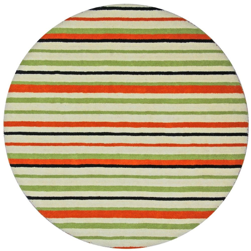 st croix trading cosmo solid/striped area rug collection