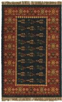 Rectangle Area Rug, Flat Woven Rug, Southwestern/Lodge, Hacienda, St Croix Trading Rug