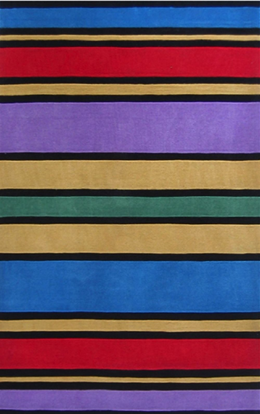 american home kids rugs solid/striped area rug collection