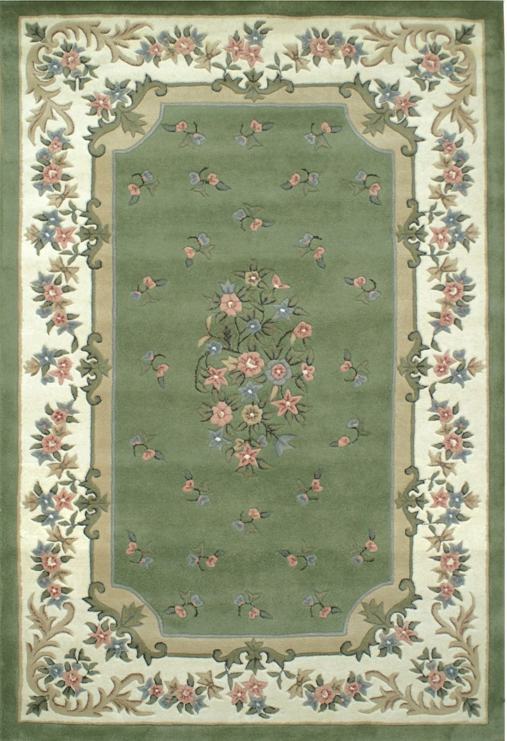 american home floral garden traditional area rug collection