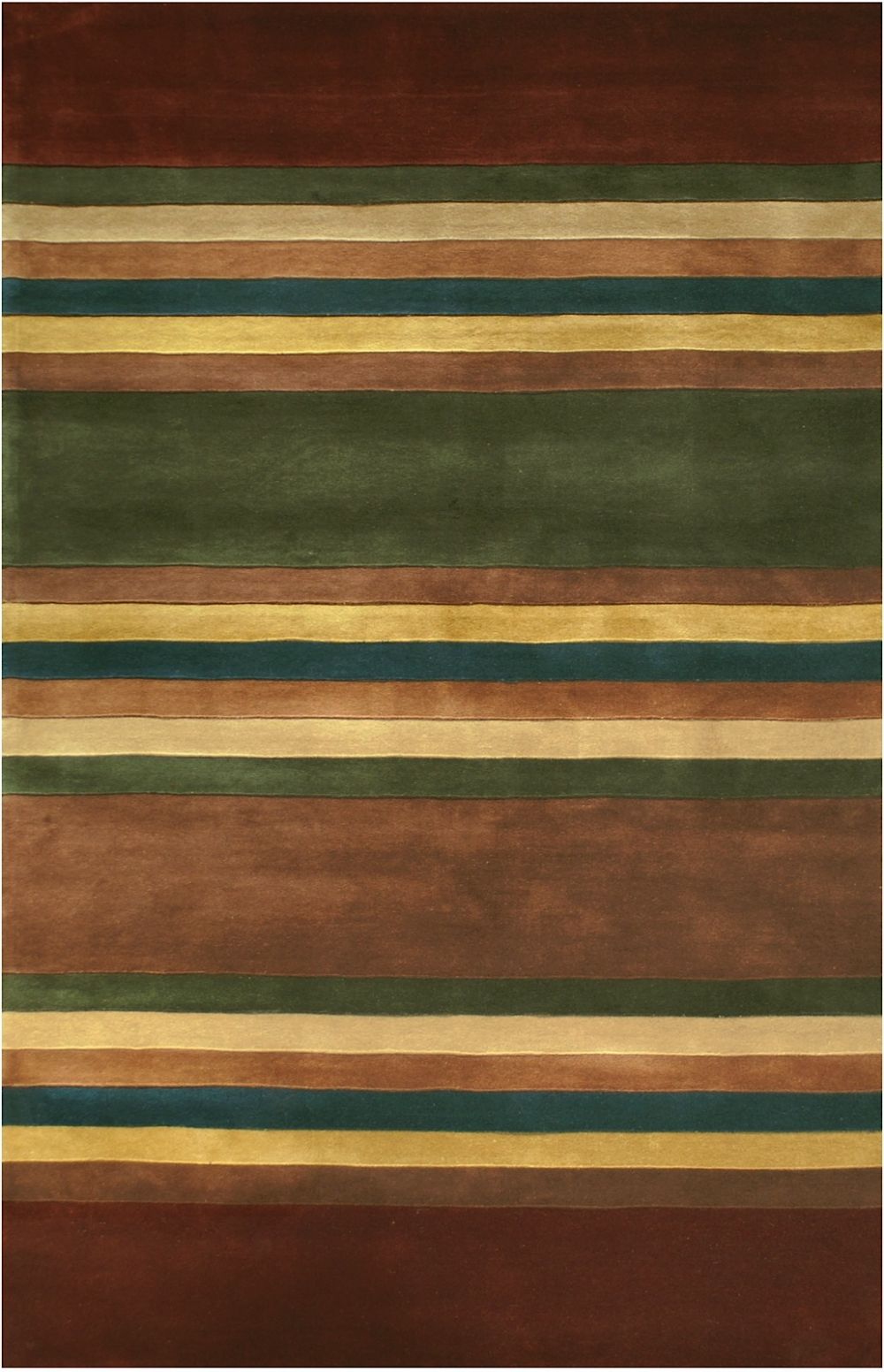 american home casual contemproary solid/striped area rug collection