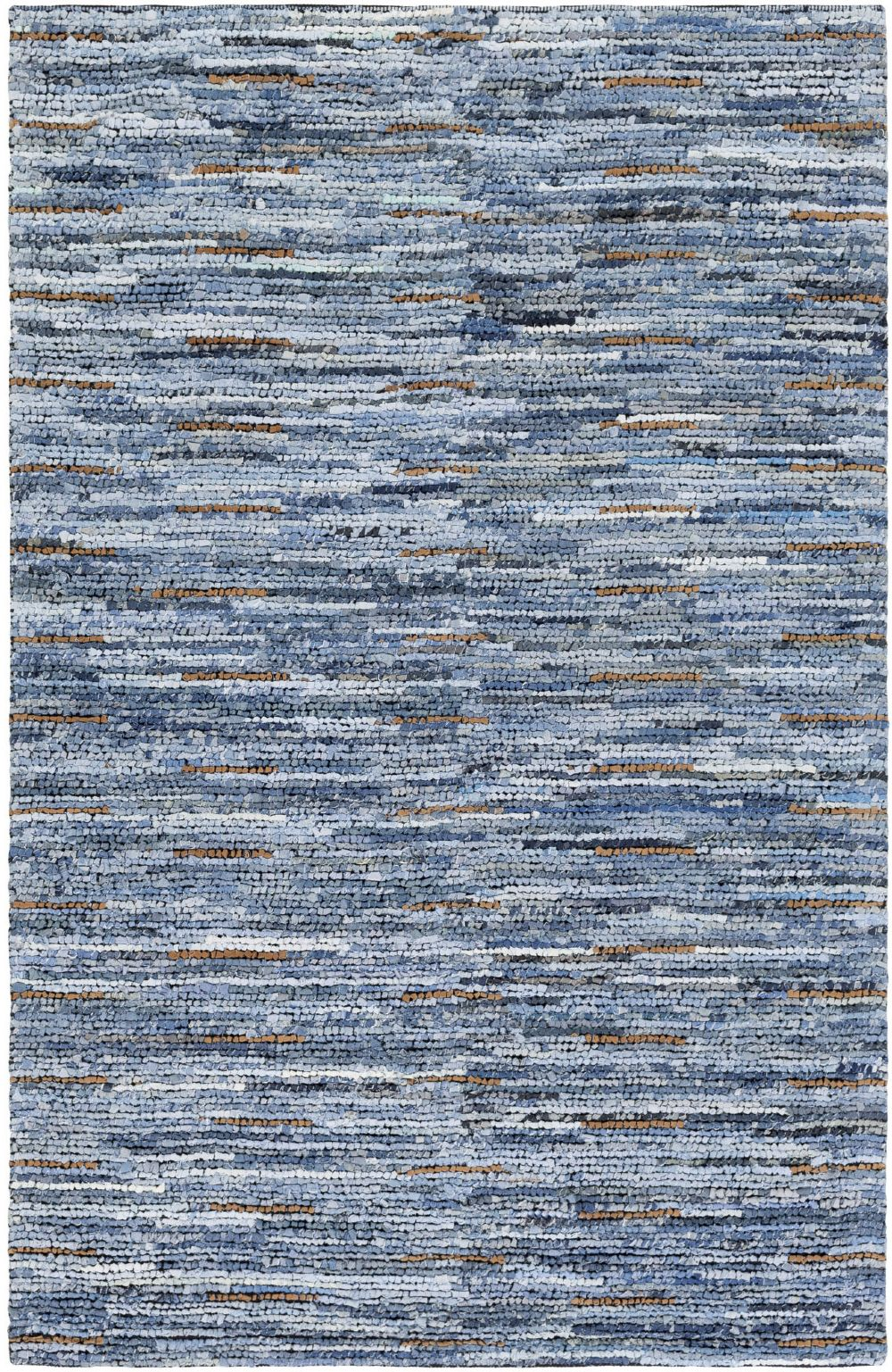 surya dungaree solid/striped area rug collection